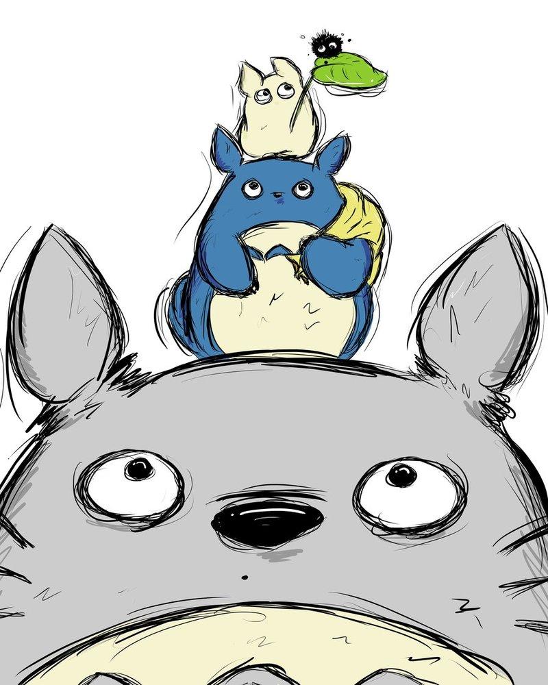 Gấu Bông Totoro – Người hàng xóm của tôi